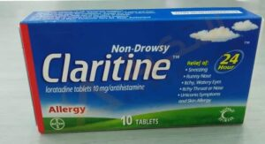هل يحتوي كلاريتين على كورتيزون والأضرار المحتملة