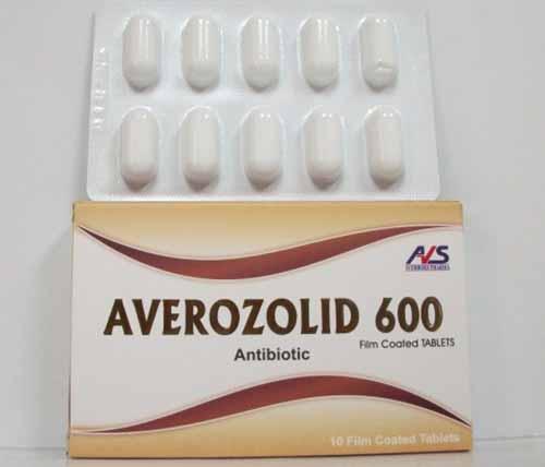 بكم سعر دواء أفيروزوليد averozolid 600