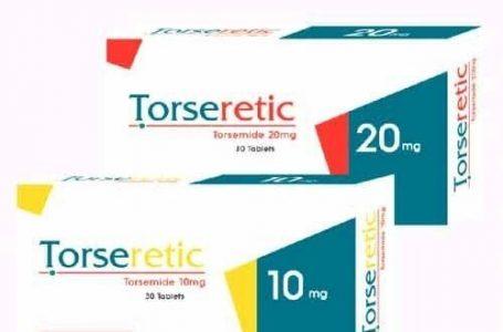 دواعي استعمال دواء تورسيريتك Torseretic والأعراض والآثار الجانبية والسعر