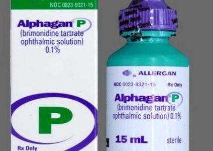 دواعي استعمال قطرة الفاجان بى Alphgan وفائدتها لارتخاء الجفن وللرموش والسعر
